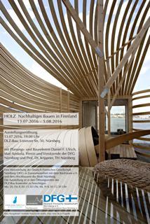 Holz - Nachhaltiges Bauen in Finnland und Nürnberg