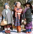 Osterhexen - Ostern in Finnland - paasiais
