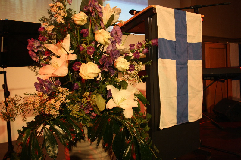 Finnland-Dekoration