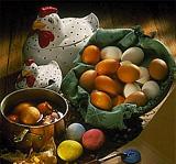 Osterhahn - Ostern in Finnland - paasiais